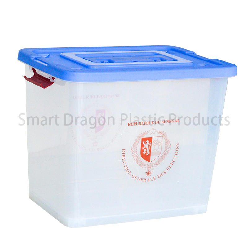 Transparent Ballot Boxes Plastic Storage Ballot Box