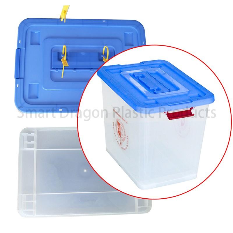 SMART DRAGON-Best Transparent Ballot Boxes Plastic Storage Ballot Box Election