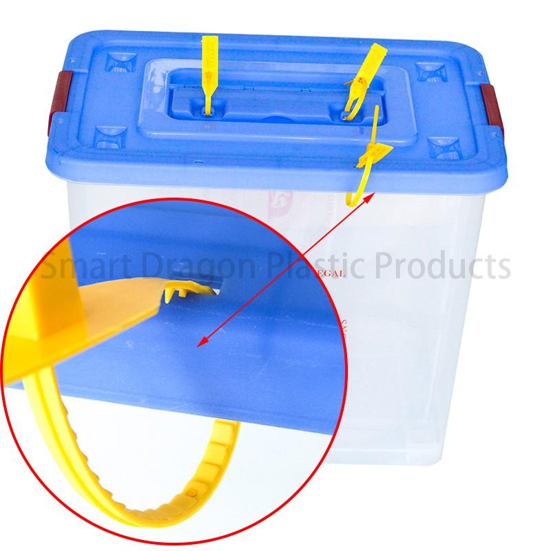 SMART DRAGON-Best Transparent Ballot Boxes Plastic Storage Ballot Box Election-1
