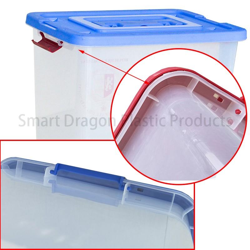 SMART DRAGON-Best Transparent Ballot Boxes Plastic Storage Ballot Box Election-2