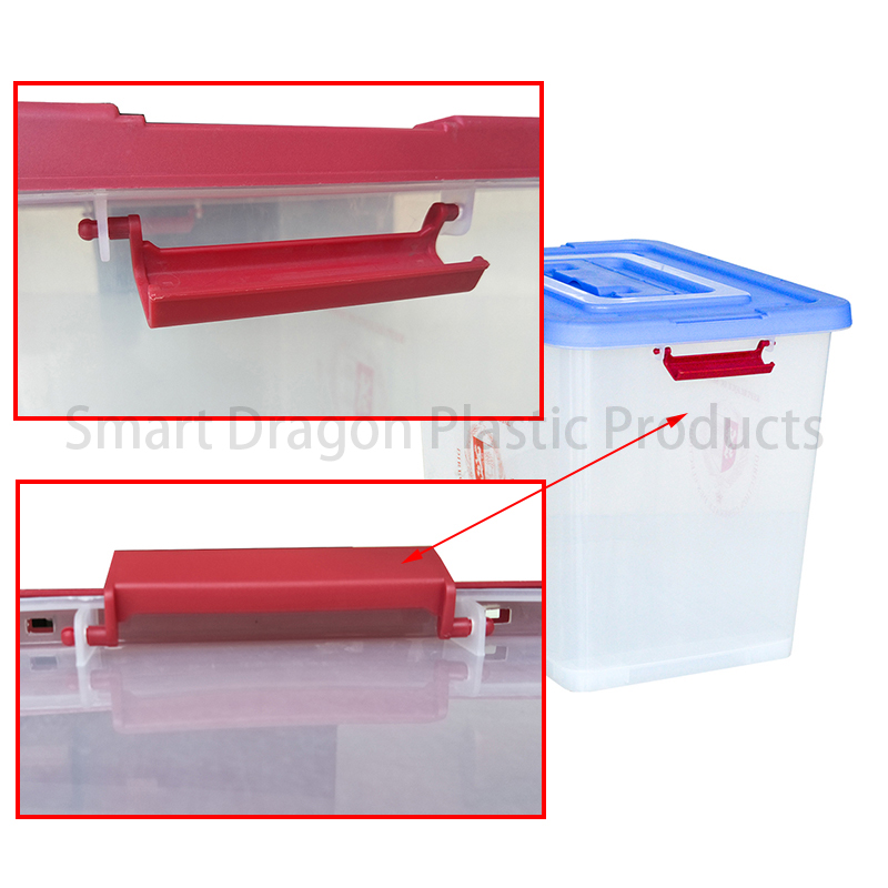 SMART DRAGON-Best Transparent Ballot Boxes Plastic Storage Ballot Box Election-3