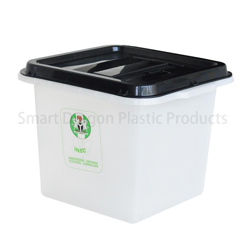 Custom-Made 45L-55L Clear Plastic Ballot Box
