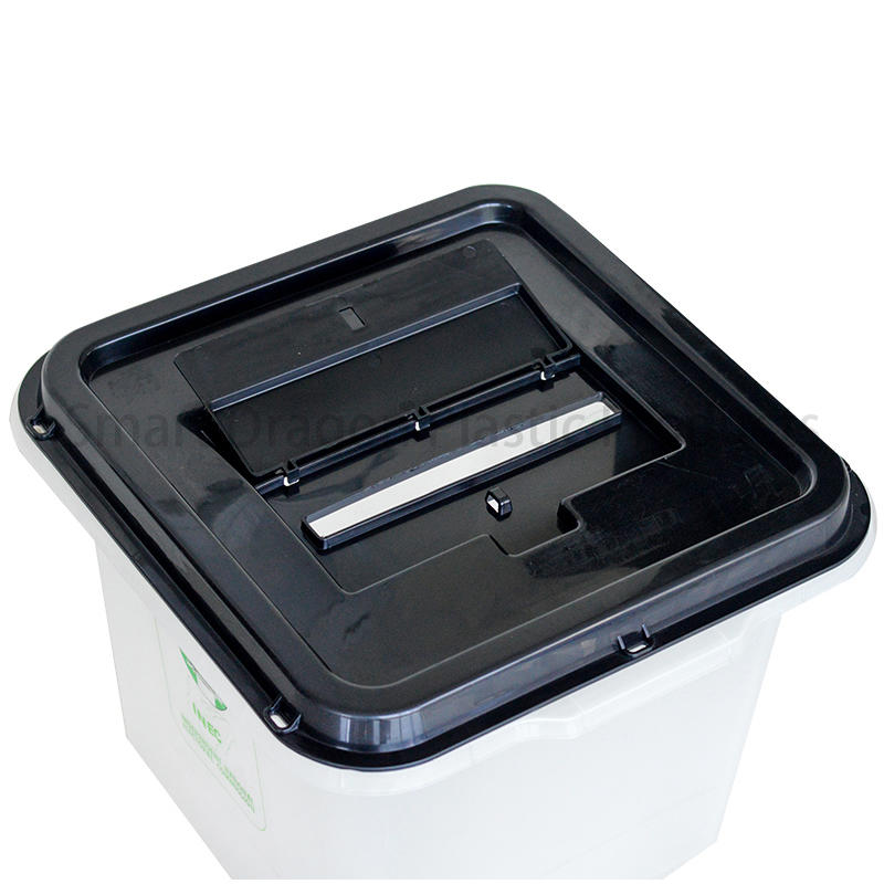 Custom-Made 45L-55L Clear Plastic Ballot Box