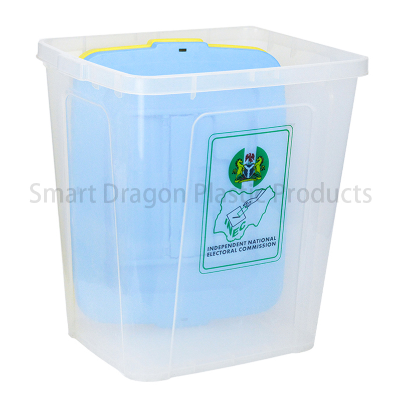 SMART DRAGON 100% Polypropylene 50L-60L Ballot Box Plastic Ballot Box image16