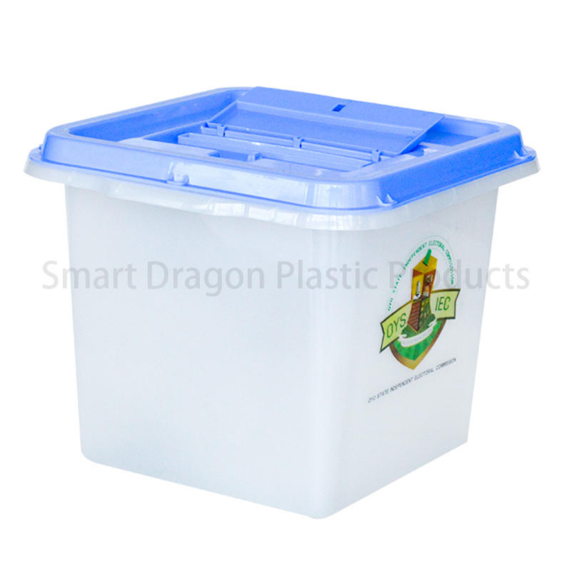 100% Pp Material Plastic Election Ballot Box