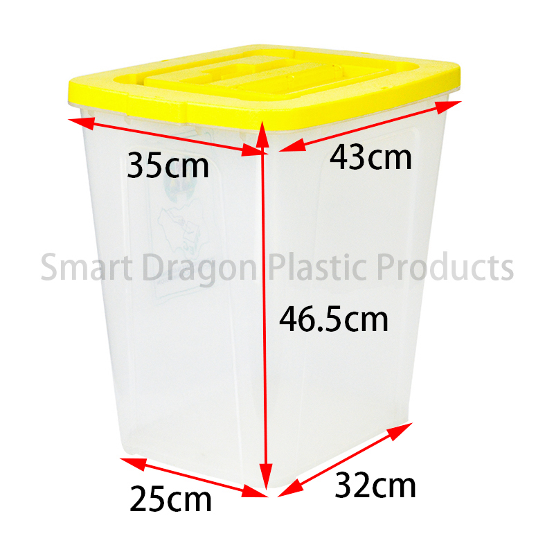 SMART DRAGON-High-quality Pp Material 50l-60l Ballot Boxes Voting Box Factory