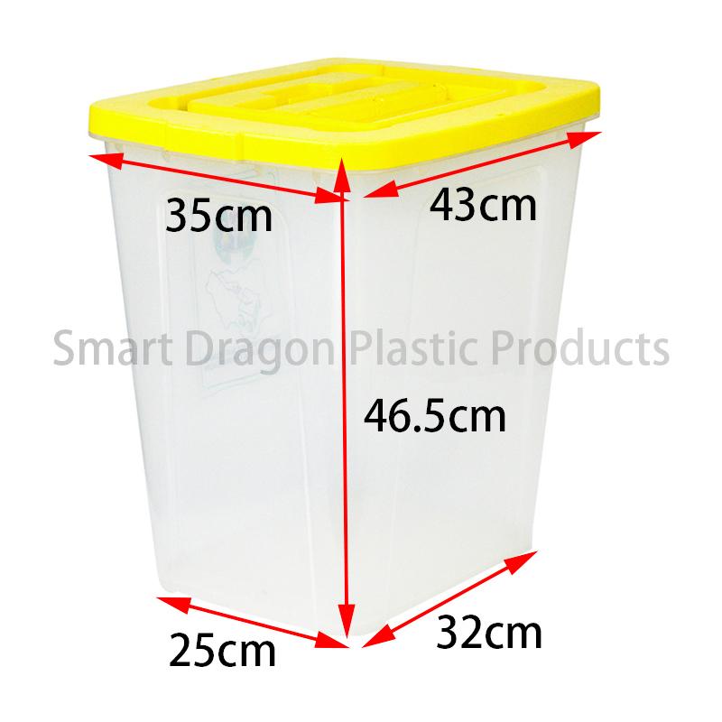 SMART DRAGON China Newest Plastic Election Ballot Box Plastic Ballot Box image12