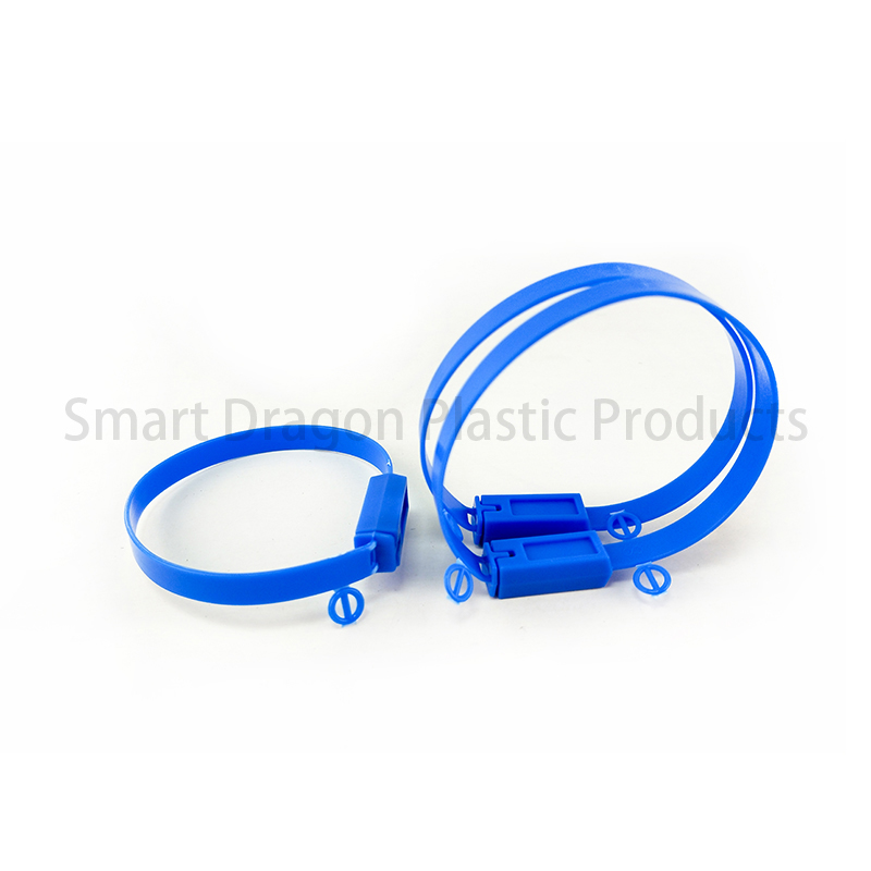SMART DRAGON Total Length 210mm Security Plastic Seal Plastic Security Seal image10