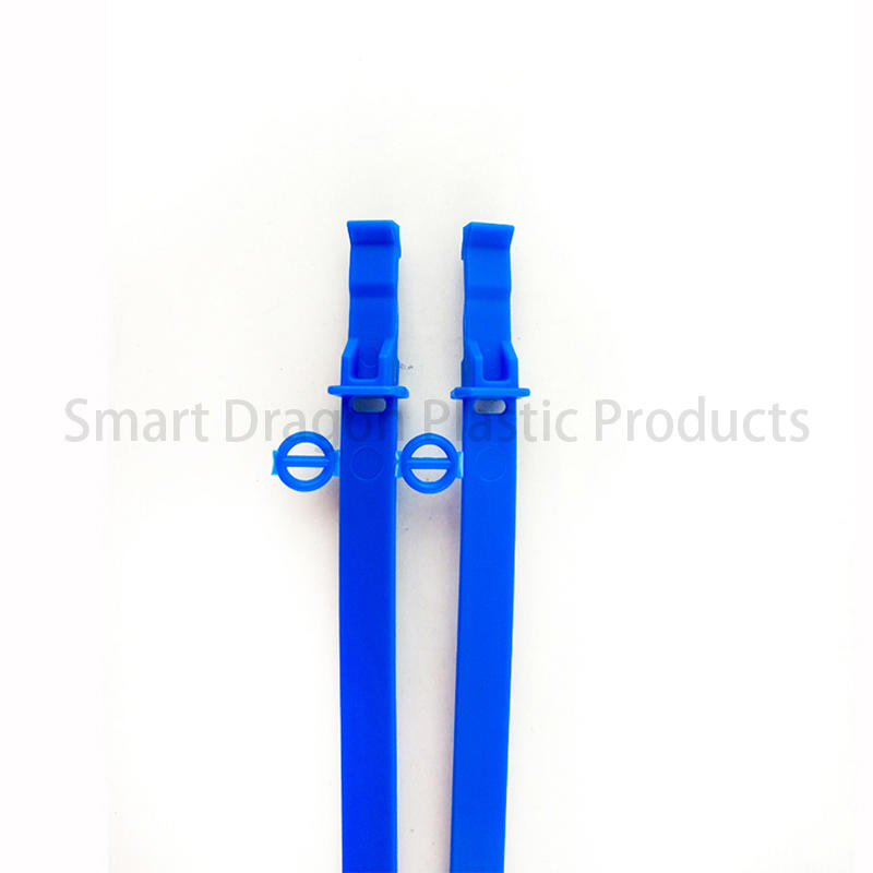 seals Custom 230mm disposable plastic bag security seal SMART DRAGON number