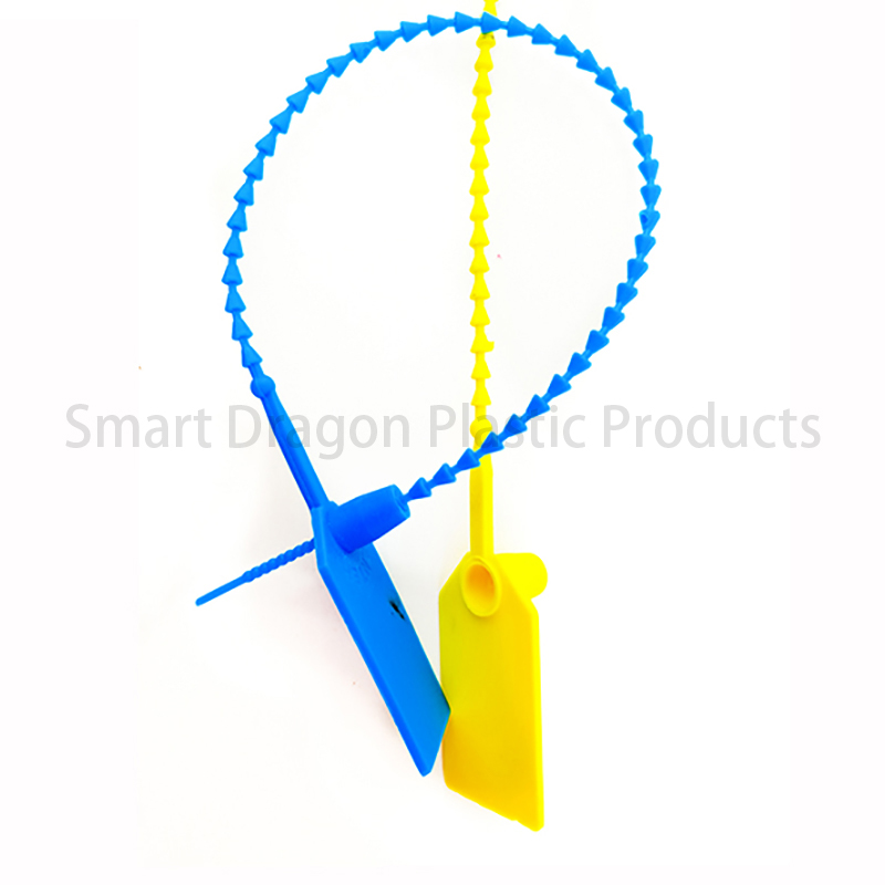 SMART DRAGON Total Length 230mm Security Plastic Seal Plastic Security Seal image9