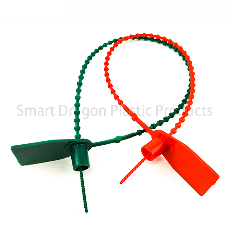 SMART DRAGON Total Length 370mm Tamper Proof Plastic Security Seal Plastic Security Seal image8