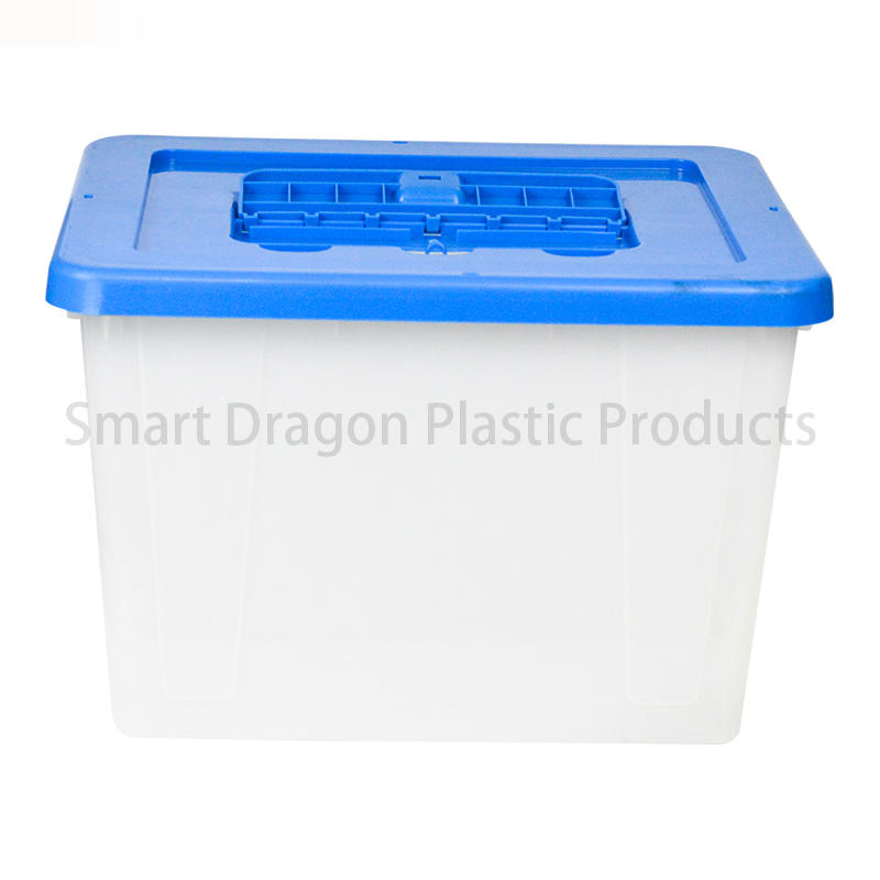 Transparent Voting Box Plastic Ballot Boxes-40L