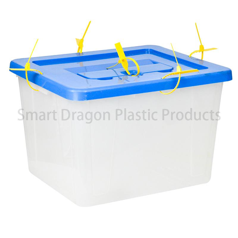 SMART DRAGON Transparent Voting Box Plastic Ballot Boxes-40L Plastic Ballot Box image7