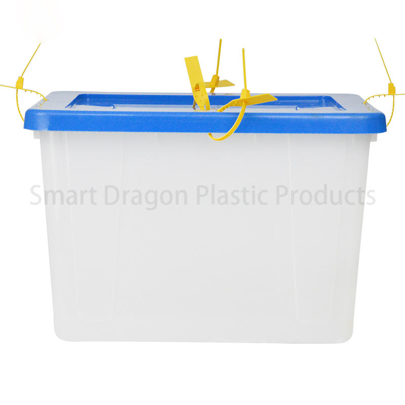 Transparent Voting Box Plastic Ballot Boxes-40L