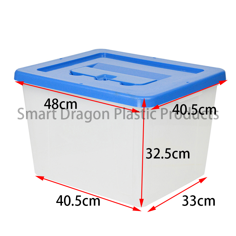 SMART DRAGON-Transparent Voting Box Plastic Ballot Boxes-40l | Plastic Ballot