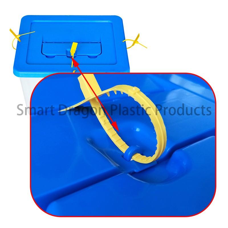 SMART DRAGON-Transparent Voting Box Plastic Ballot Boxes-40l | Plastic Ballot-1