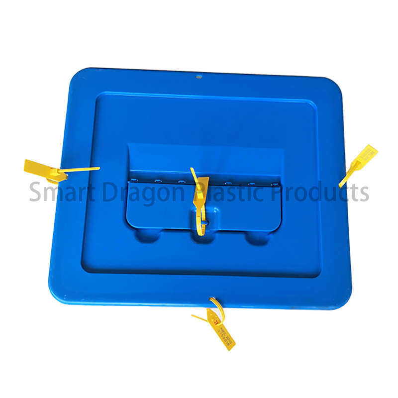 SMART DRAGON-Transparent Voting Box Plastic Ballot Boxes-40l | Plastic Ballot-2