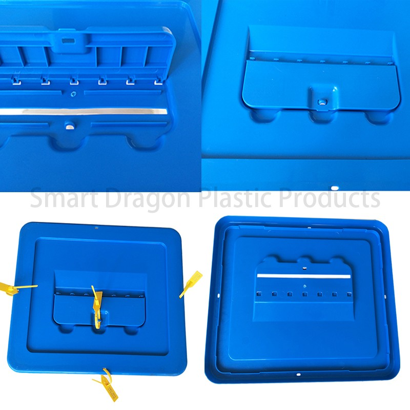 SMART DRAGON-Transparent Voting Box Plastic Ballot Boxes-40l | Plastic Ballot-4