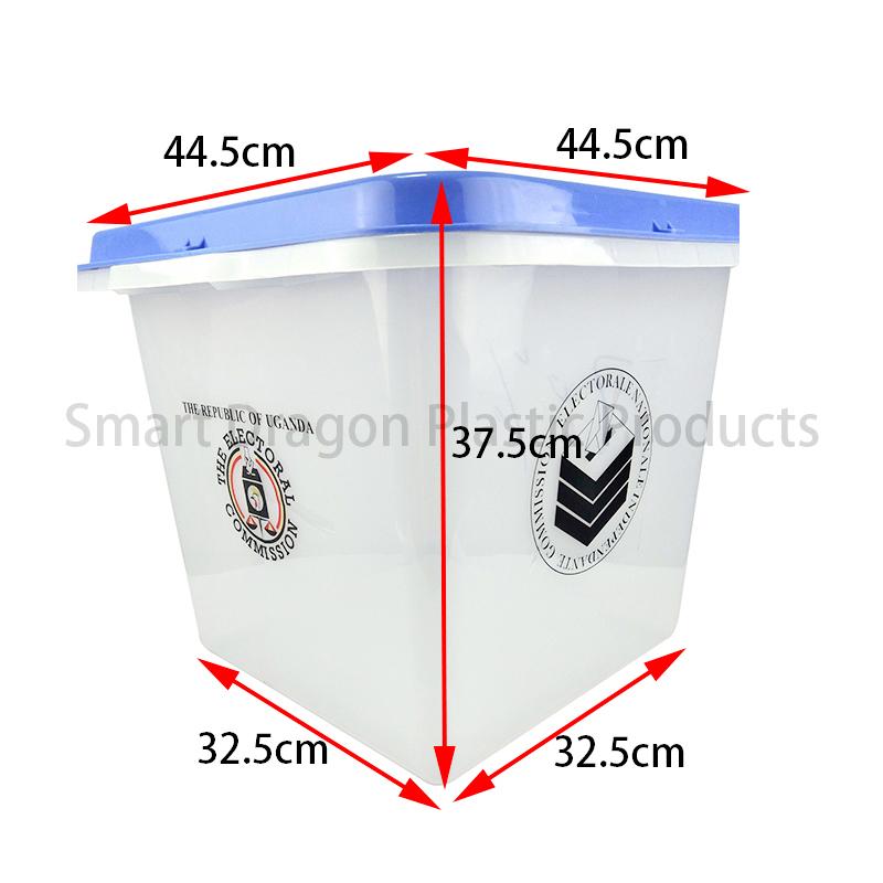 SMART DRAGON-Best Factory Wholesale Election Ballot Box 45l-55l Plastic