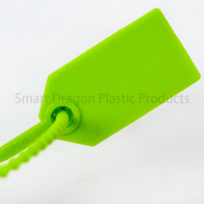 SMART DRAGON-Green Plastic Security Seal Total Length 230mm | Plastic Security