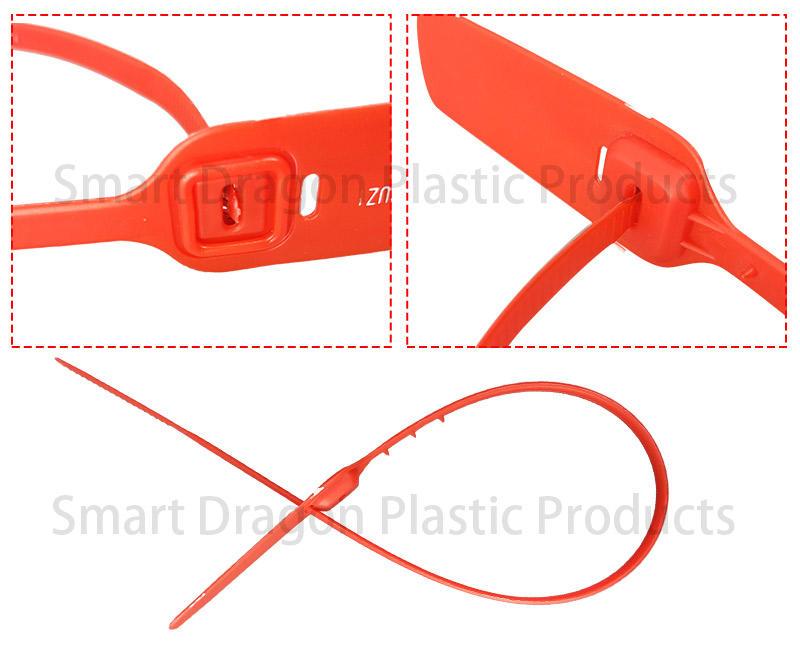 polypropylene tamper resistant seals pressure for packing SMART DRAGON