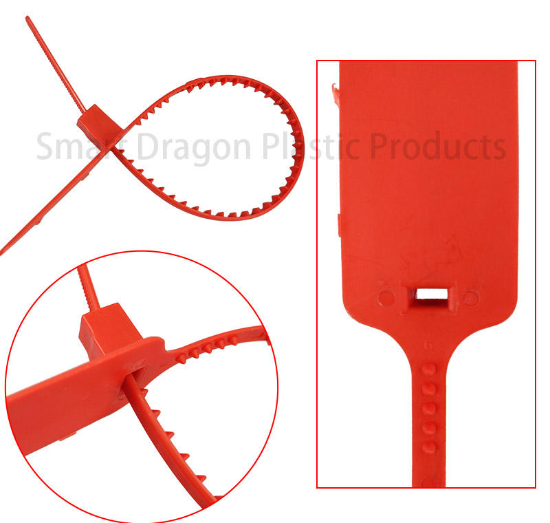 SMART DRAGON cable plastic lock seal tigh for packing