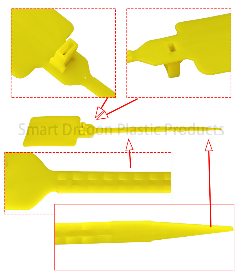 SMART DRAGON-High-quality Polypropylene Plastic Seals Plastic Security Seal | Plastic-2