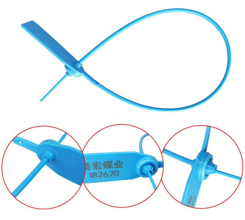 SMART DRAGON-Total Length Is 370mm Plastic Security Seal | Plastic Seals For Trucks Company-1