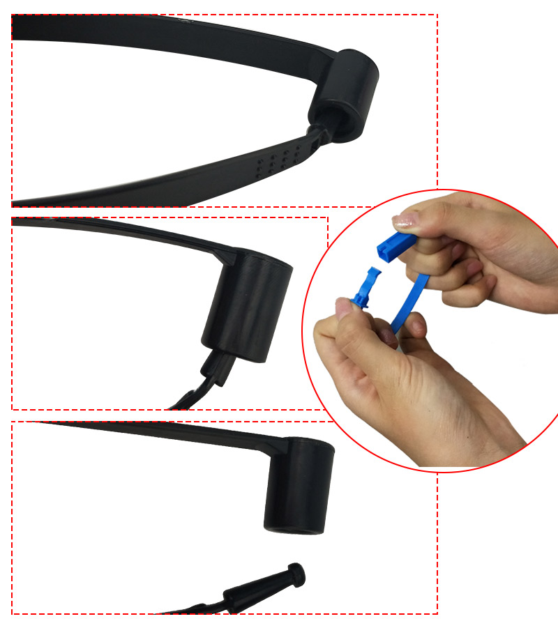 SMART DRAGON-High-quality Pull Tight Tamper Proof Security Plastic Seal | Plastic Security-4