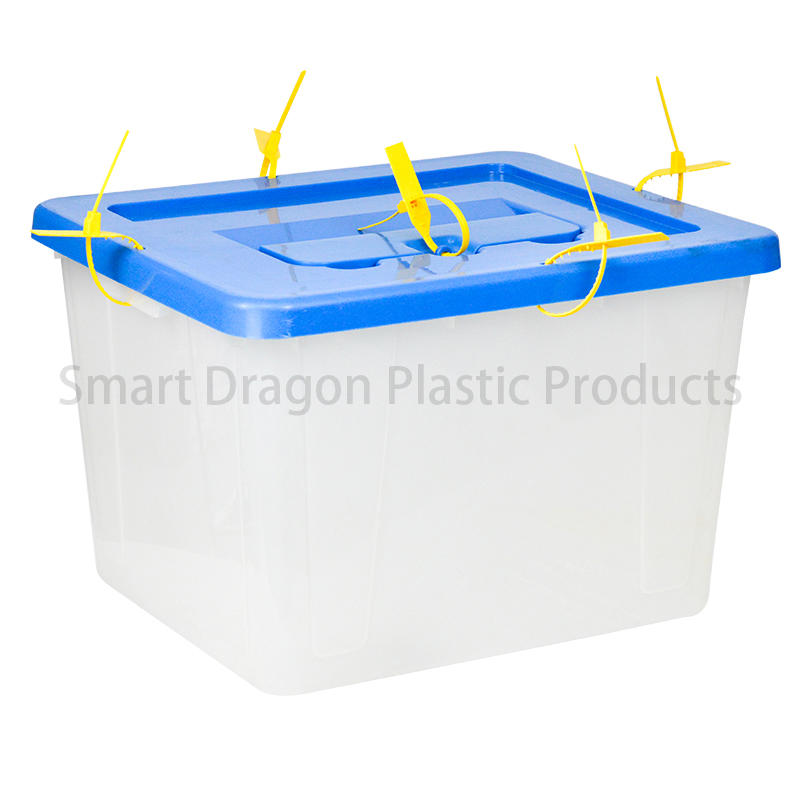 Pp Plastic Lockable Ballot Box With Plastic Seal