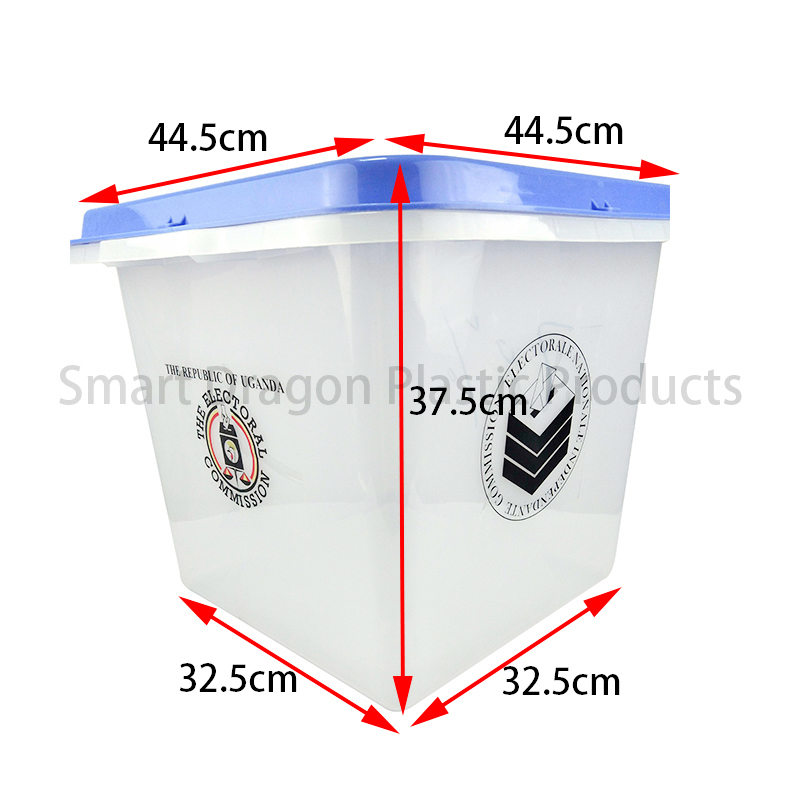 SMART DRAGON-Best Plastic Ballot Box For Voting Election Boxes Manufacture