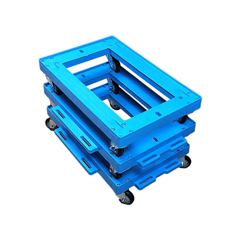 Plastic Moving Dolly Four Pp Wheel Trolley
