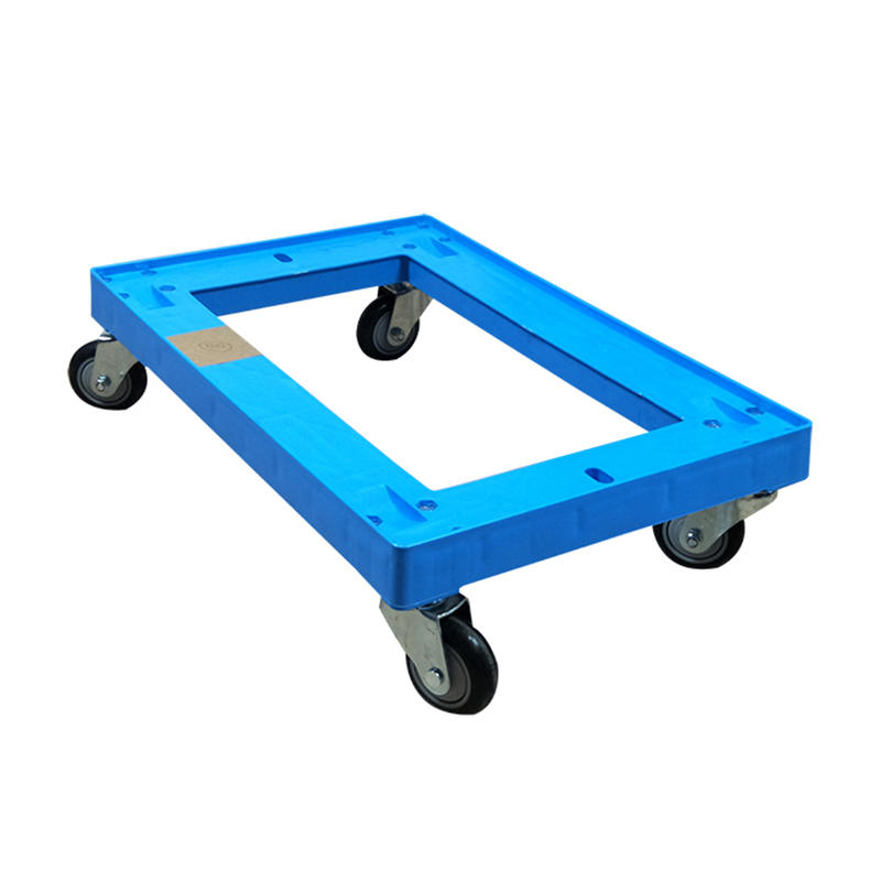 Portable Plastic Deck Platform Trolley Four-Wheel