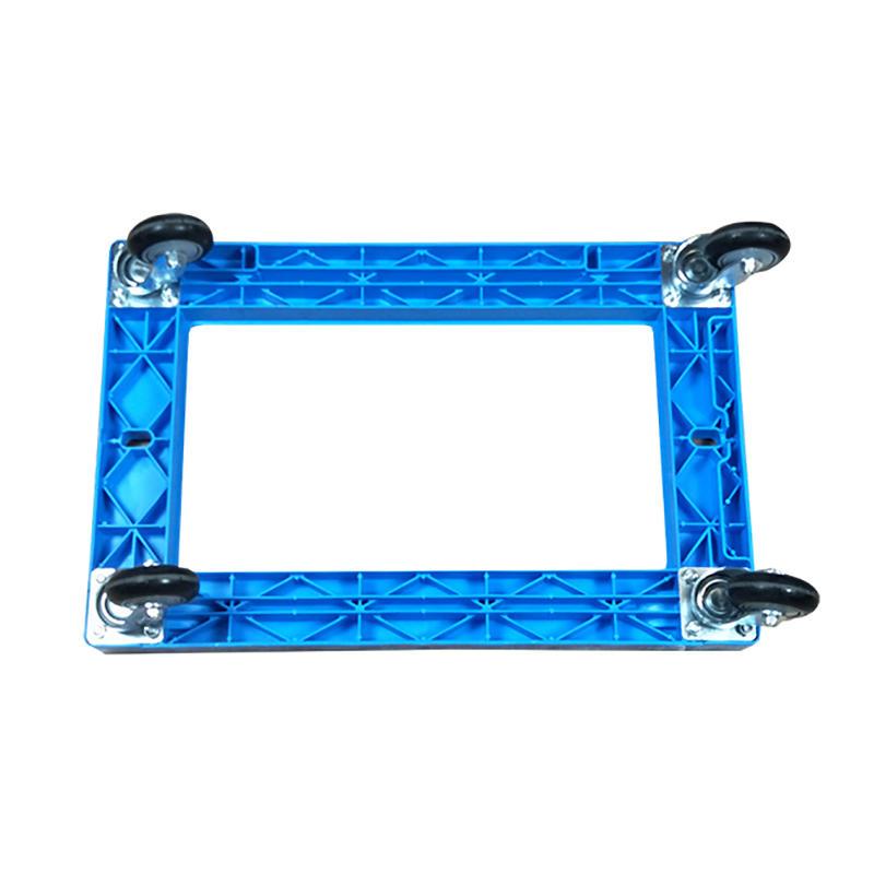 Portable Plastic Deck Platform Trolley Four-Wheel