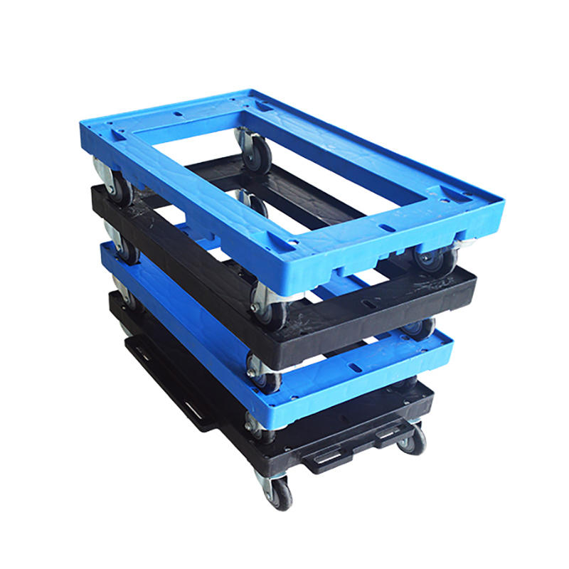 New Plastic Moving Dolly 4 Wheels Trolley