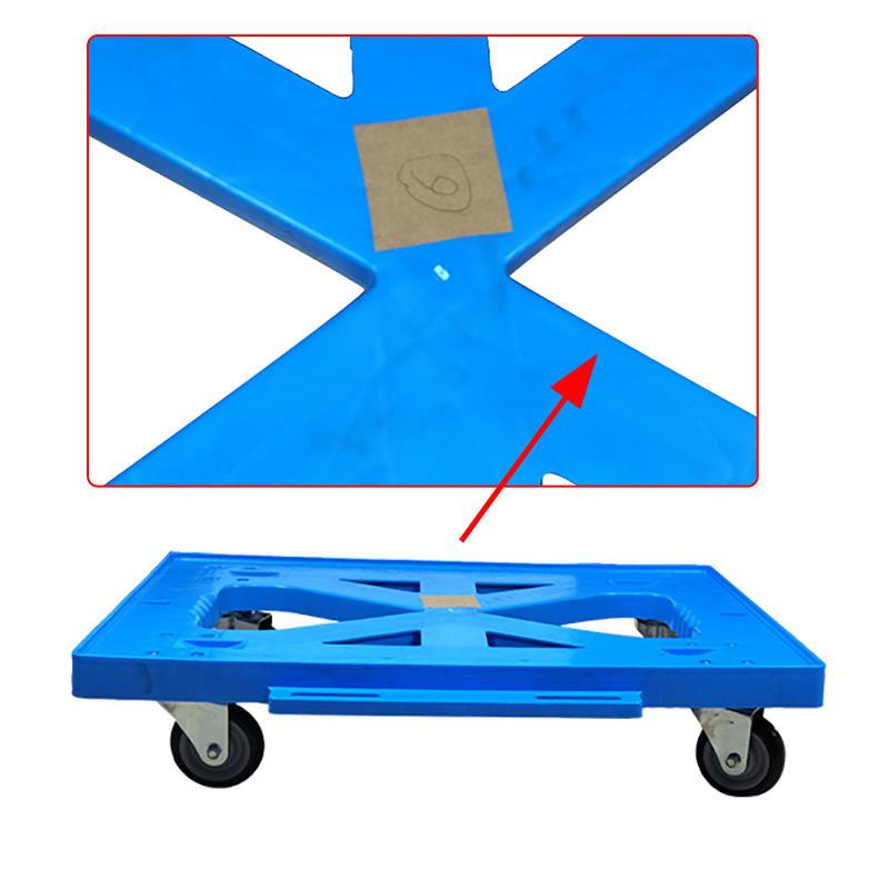 Hot plastic trolley wheeled SMART DRAGON Brand