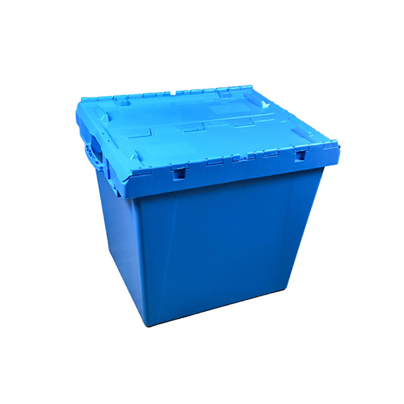 Lidded Plastic Storage And Turnover Heavy Duty Plastic Box