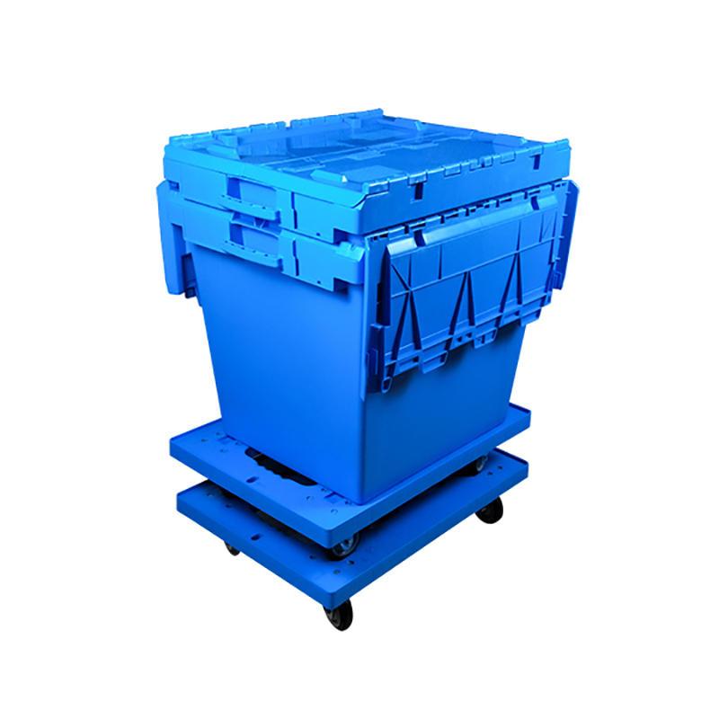 Lidded Plastic Storage And Turnover Heavy Duty Plastic Box
