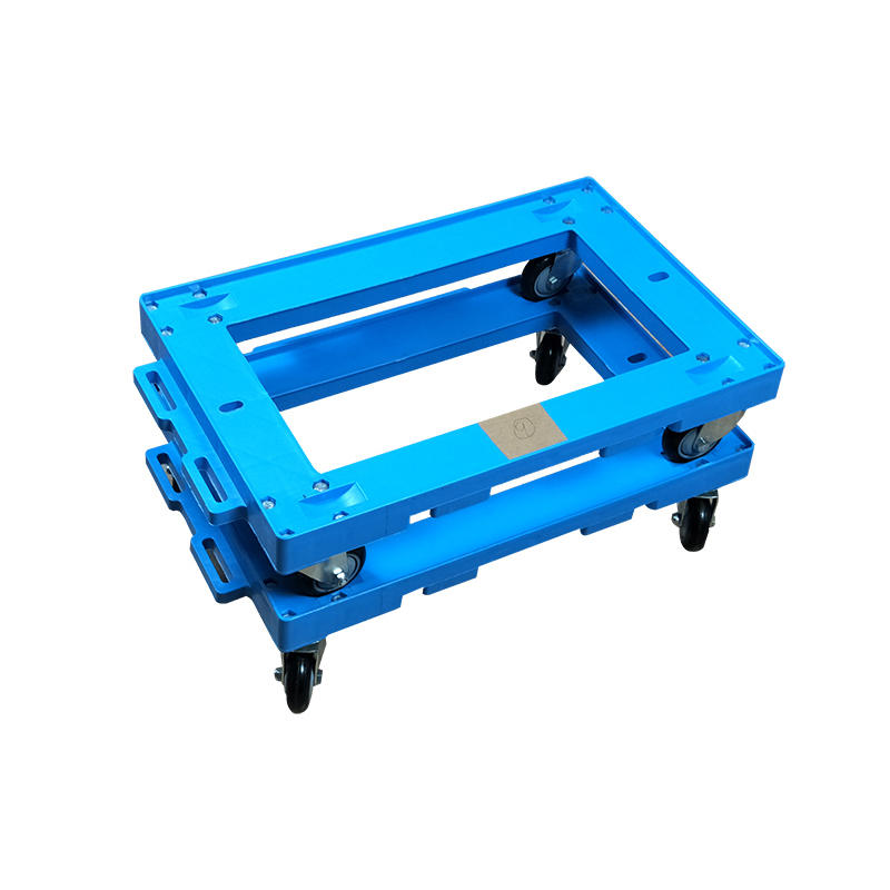 Custom Heavy Duty Wheeled Moving Carts Portable Plastic Hand Truck