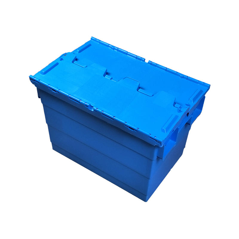 Hot Sale Home Plastic Turnover Boxes With Handle