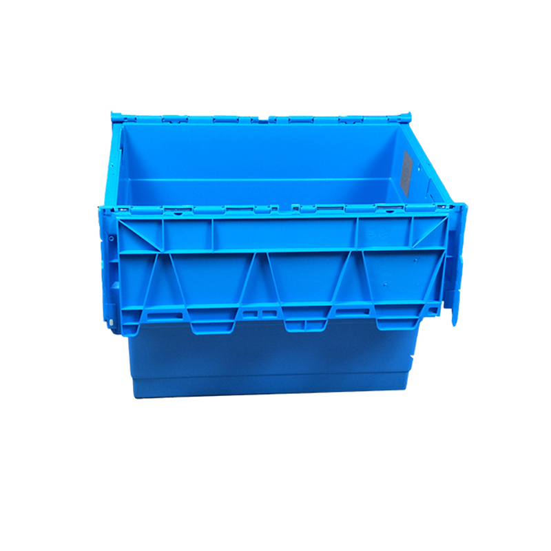 SMART DRAGON-Hot Sale Home Plastic Turnover Boxes With Handle-1