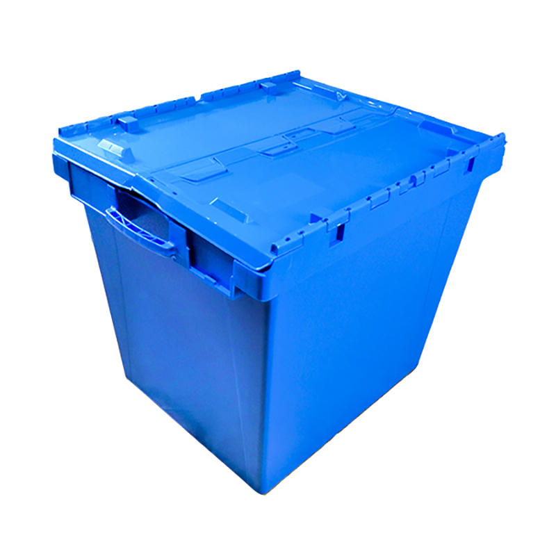 750*570*625mm Stackable Turnover Plastic Moving Boxes For Sale