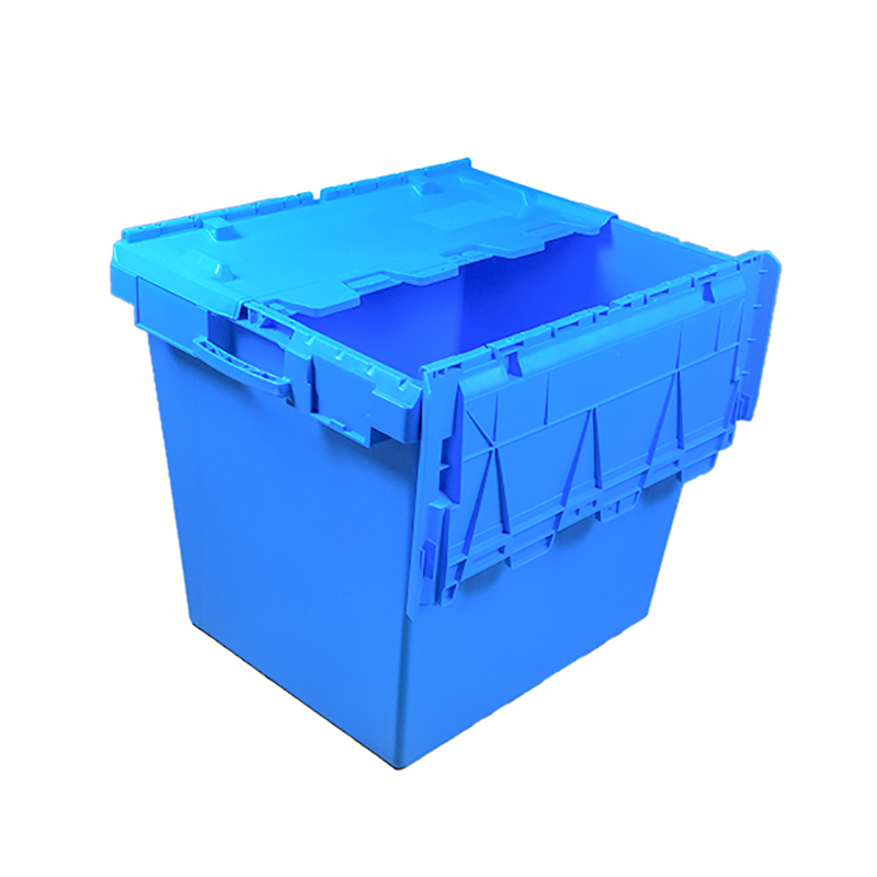 SMART DRAGON-750570625mm Stackable Turnover Plastic Moving Boxes For Sale