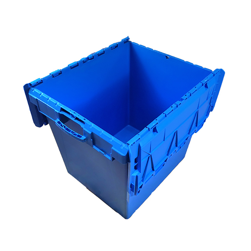 SMART DRAGON-750570625mm Stackable Turnover Plastic Moving Boxes For Sale-1