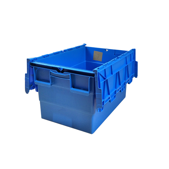 SMART DRAGON-Find Pp Turnover Box turnover Crate With Lid On Smart Dragon Plastic Products-1