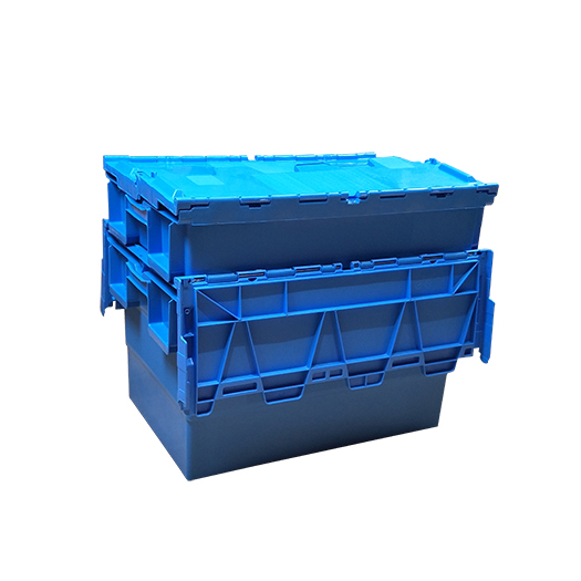 SMART DRAGON-Find Pp Turnover Box turnover Crate With Lid On Smart Dragon Plastic Products-2