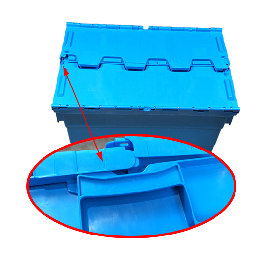 SMART DRAGON-Find Pp Turnover Box turnover Crate With Lid On Smart Dragon Plastic Products-3