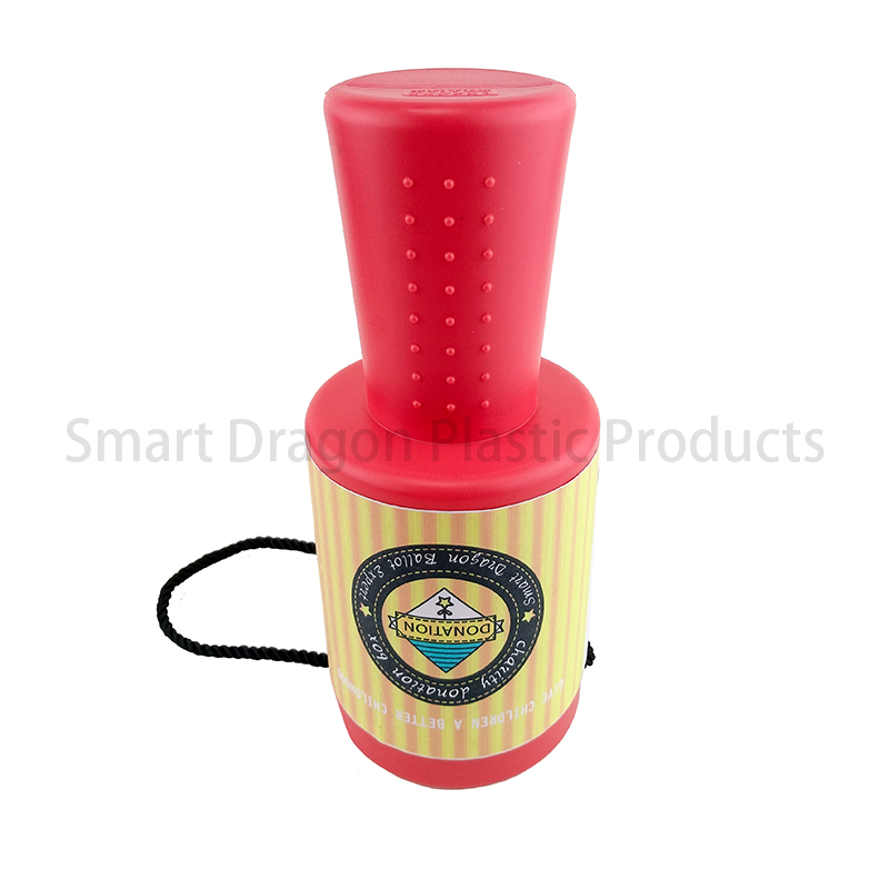 SMART DRAGON-Plastic Charity Box Hand Held Plastic Collection Box Charity-4