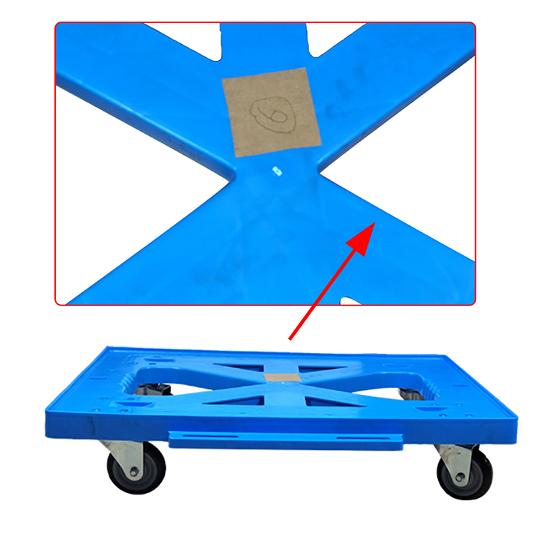 SMART DRAGON-High-quality Platform Moving Stackable Cart Dolly Truck Cart Factory-1