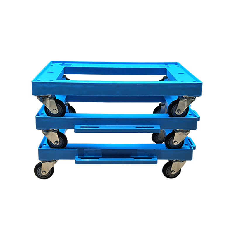 SMART DRAGON-Plastic Moving Dolly Four Pp Wheel Trolley - Smart Dragon Plastic Products